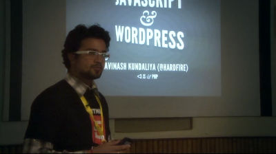 Avinash Kundaliya: JavaScript &amp; WordPress