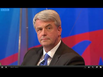 Lansley – BBC Question Time 13-10-2011