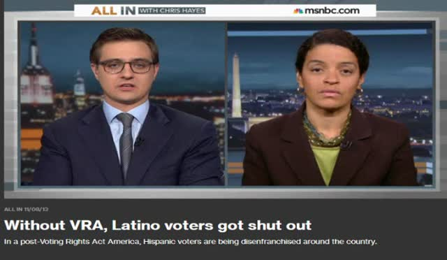 SUPREME COURT DECISION DISENFRANCHISING LATINO AMERICANS