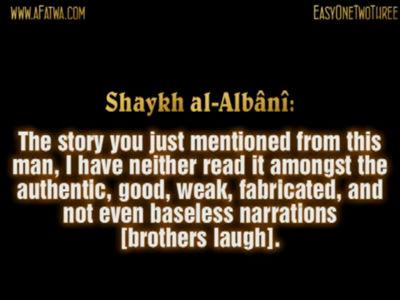 Abdul-Hamid Kishk – a storyteller – Imam al-Albani