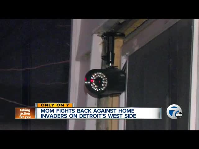 Mom Opens Fire On Home Invaders In Detroit