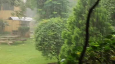 Raining in Uganda 2