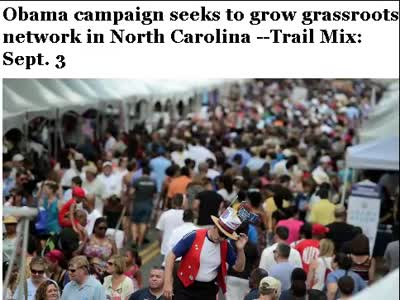 WASHINGTON POST ON OBAMA GRASSROOTS ORGANIZING