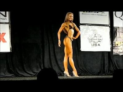 Brittany Murchie at the NPC Nationals