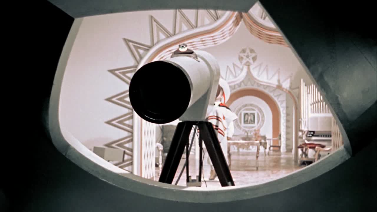 Santa's observatory clip