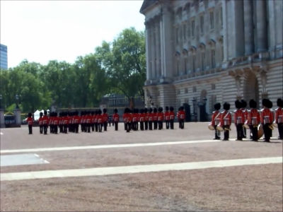 Changing Guard at Buckingham Palace &#8211; May 2010