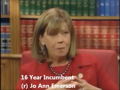 Jo Ann Emerson Supports Supports and Defends Unconstitutional Wars