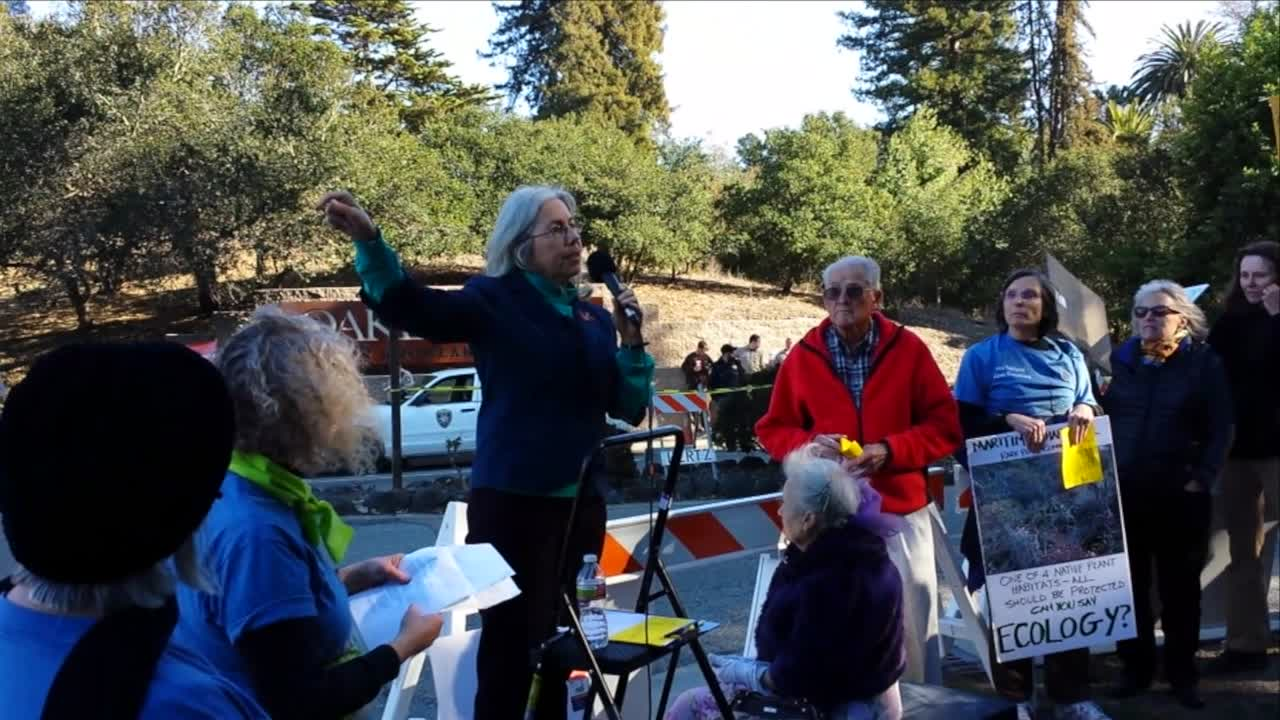 Save Knowland Park Protest