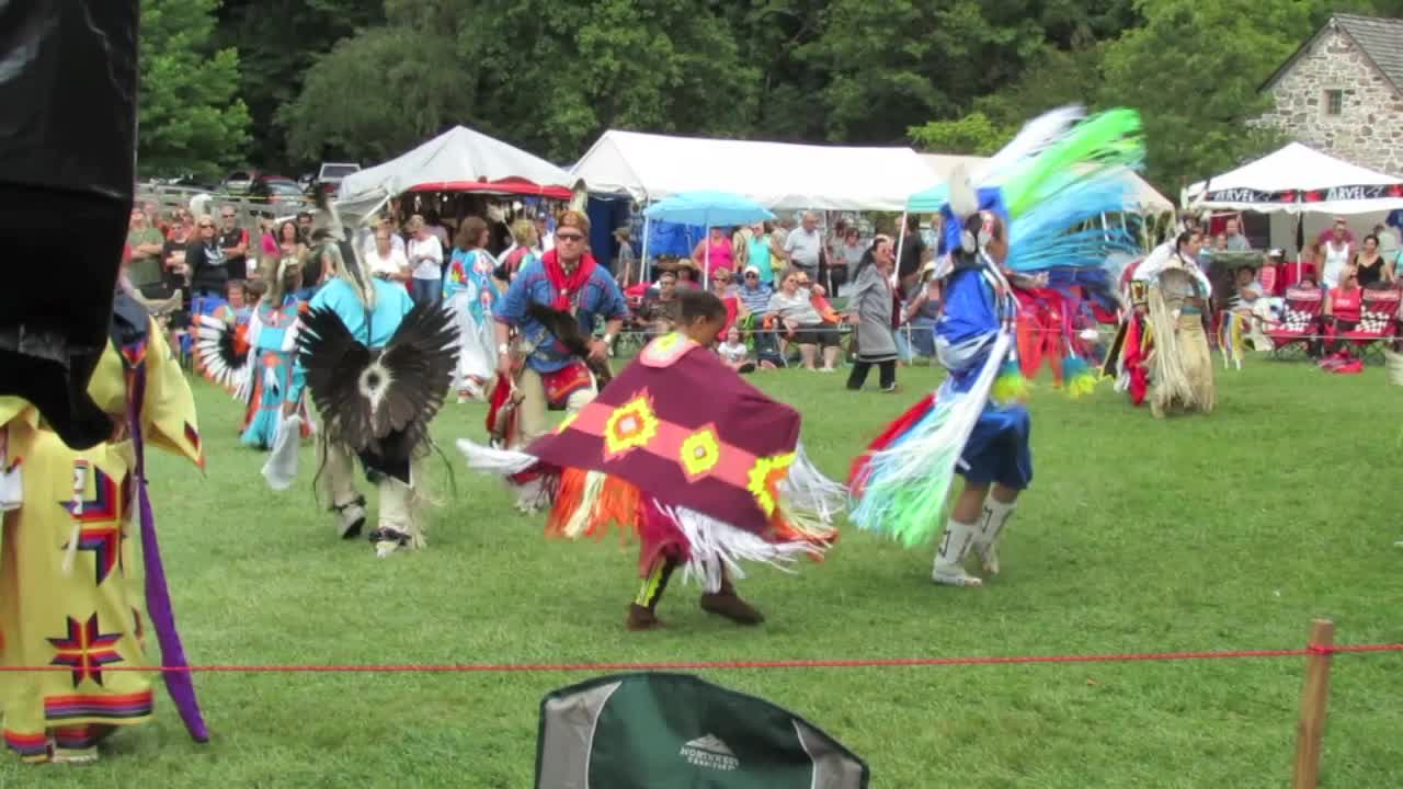 Traditional Native American Dancers
