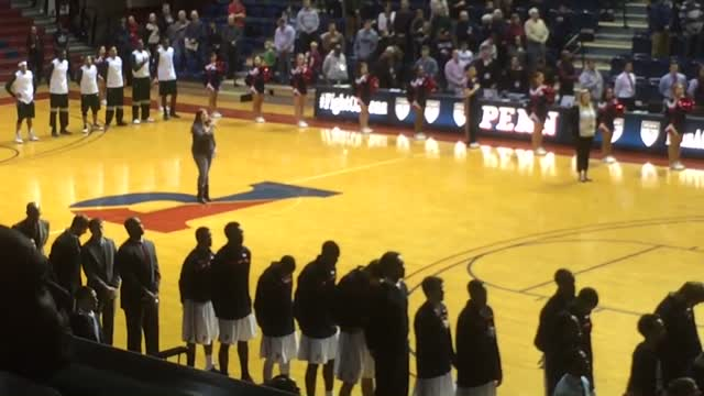 National Anthem – Palestra 2013