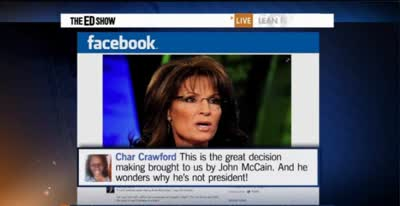 FOX NEWS AXES SARAH PALIN