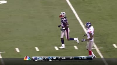 Safeties staying within 15 yards of line of scrimmage during last Patriots drive.