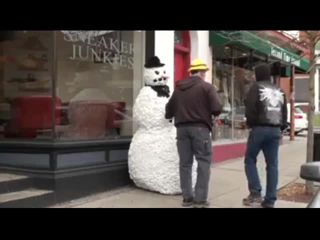 The Scary Snowman
