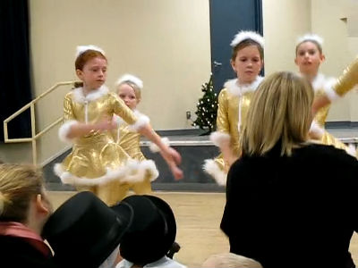 Happy Holidays Jazz Dance 2012