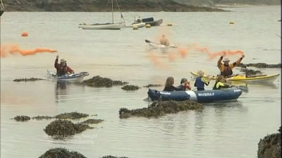 ITV News West Country – Midlifekayak Homecoming