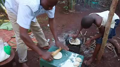 Making Chapatis – Wi-Fi