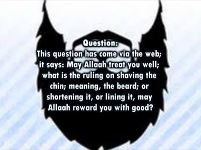 Shaving the Beard and the Moustache -Shaykh Muhammad bin Haadee