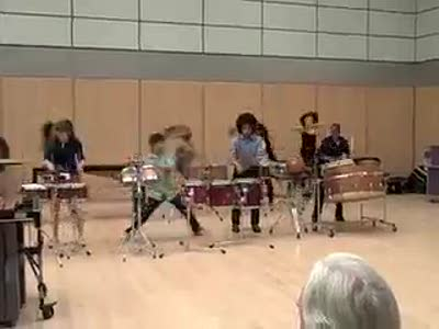 Percussion Scholarship Group