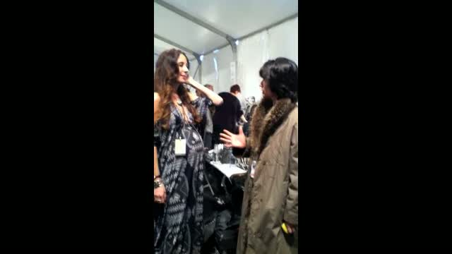 Mara Hoffman talks to The Fashion Examiner about her inspiration for her fall 2011 collection