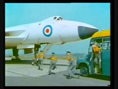 Vulcan Bomber Scramble, 1958