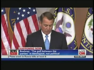 John Boehner Debt Ceiling (July 11, 2011) – CNN