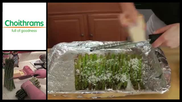 How to make Parmesan roasted Asparagus
