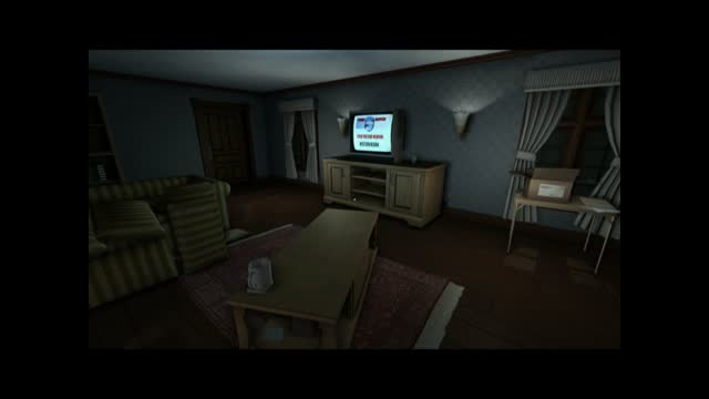 Gone Home Physics Examine system