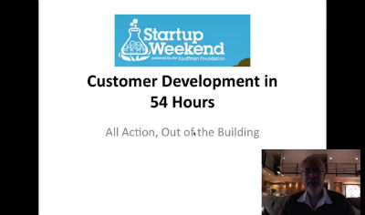 Startup Weekend Part 1