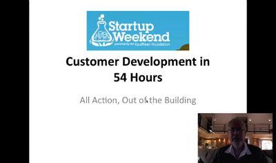 Startup Weekend Part 1