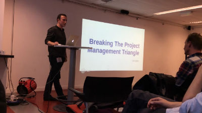 Lee Aylett: Breaking the Project Management Triangle
