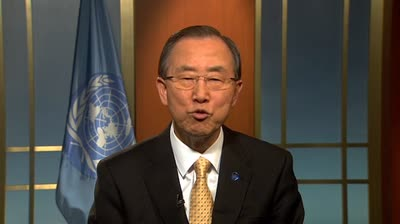 Secretary Genral Ban Ki-moon Message Human Rights LGBT Oslo Apr2013