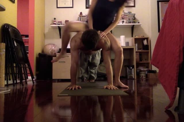 Girlfriend Pushups