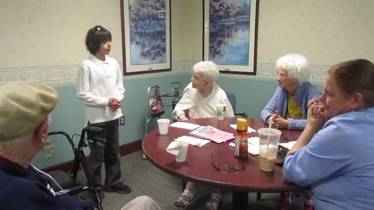Elihu Sings in the Nursing Home