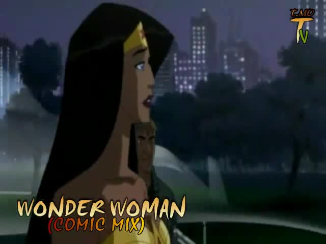 WONDER WOMAN (COMIC MIX)