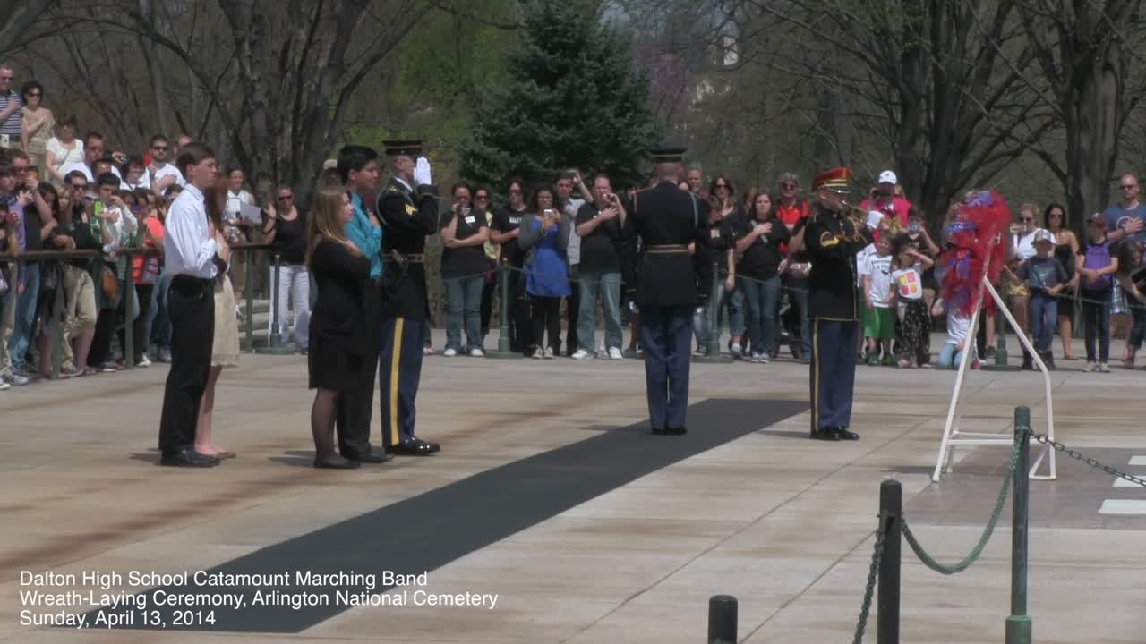 DHS Band – Arlington Cemetery