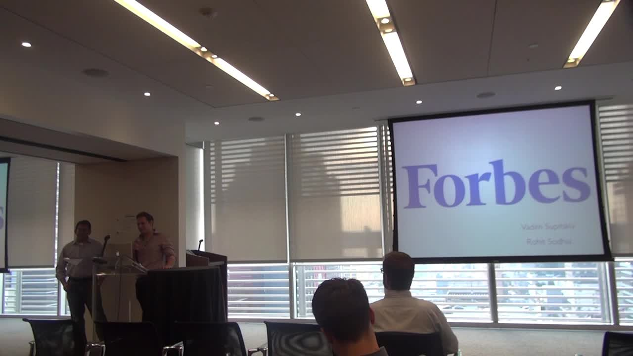 "Vadim Supitskiy – Forbes.com: ""Evolution of the Forbes Publishing Platform"""