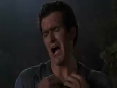 Army of Darkness 1992 Good Bad I'm the Guy With the Gun