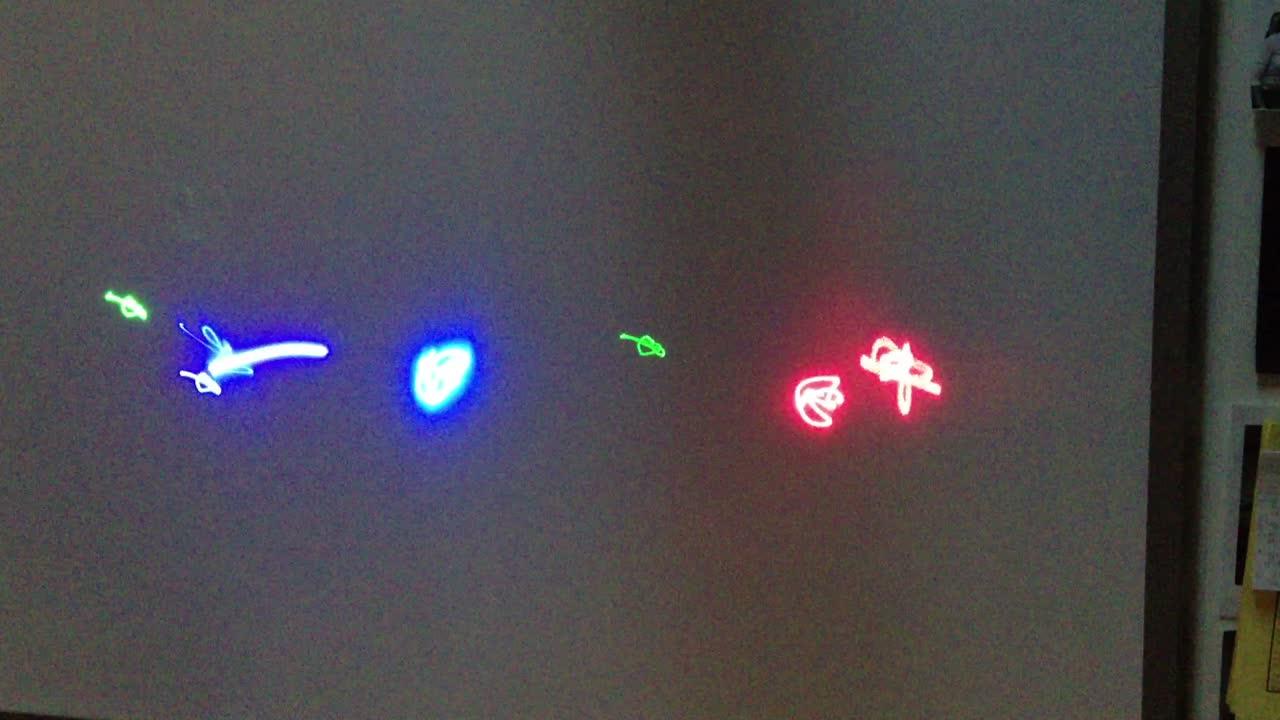 Sound Wave Laser Show