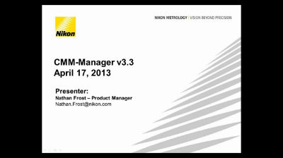 2013-04-17 14.05 Introducing CMM-Manager 3.3_1