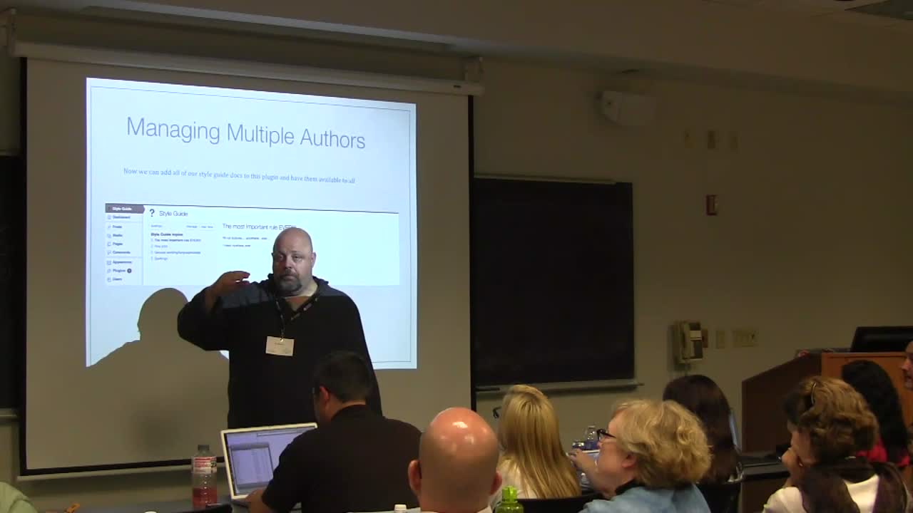 Al Davis: Managing Multiple Authors – Creating an Editorial Process