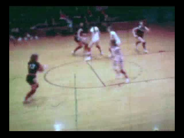 Laurens at Rolfe (white uniforms) Jan. 23, 1972