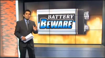 KCTV5 exposes the 9-volt battery fire danger