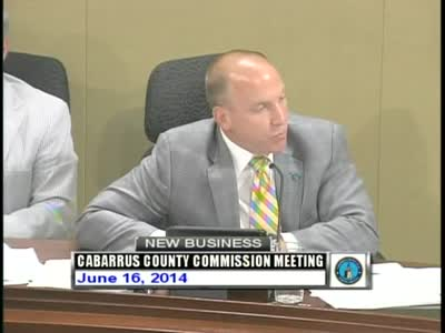 Cabarrus County Commissioners Mtg 06.16.2014