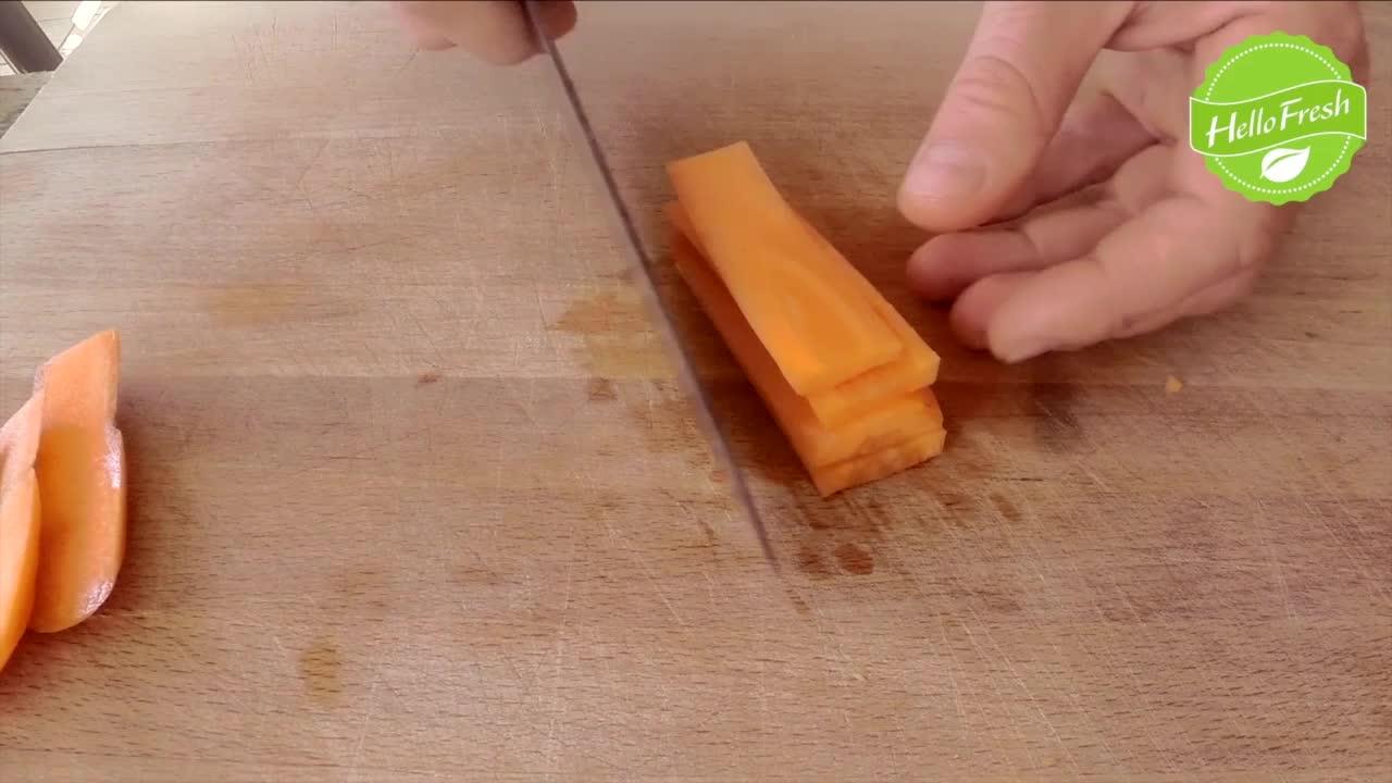 Chopping Carrot
