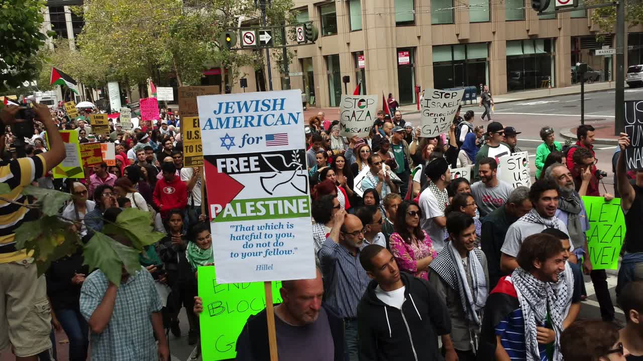 San Francisco Protest Against Israeli Terrorism