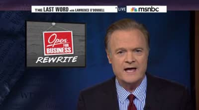 msnbc tv  O'Donnell  You didnt rebuild that