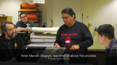 Marwin Begaye &#8211; Printmaking