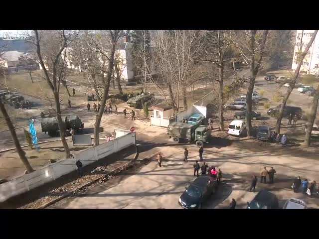 Ukranian Army Is Mobilizing