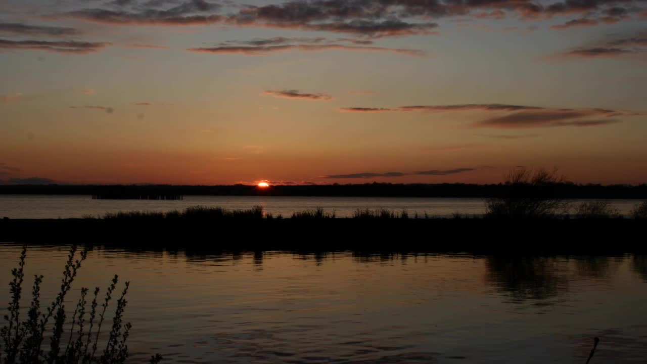 Sunset over Lough Neagh