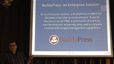 Tim McKenna: BuddyPress – An Enterprise Solution